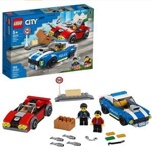 Lego City Policy Highway Arrest 60242